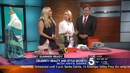 Get Summer Ready With These Celebrity Beauty & Style Secrets, KTLA feature